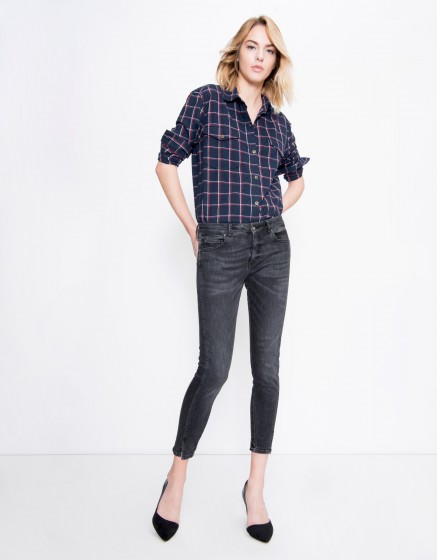 Cropped Skinny jean Daytona - DENIM V-03