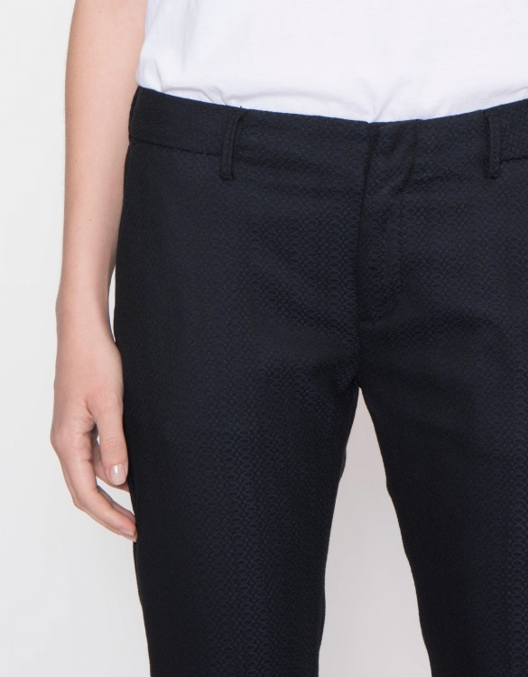 Cigarette Trousers Lizzy Fancy - WOOD