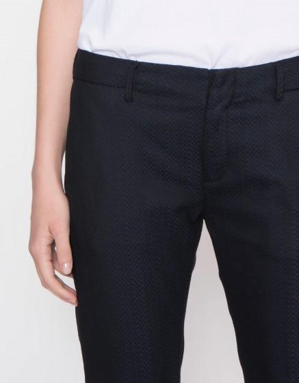 Cigarette Trousers Lizzy Fancy - WOOD