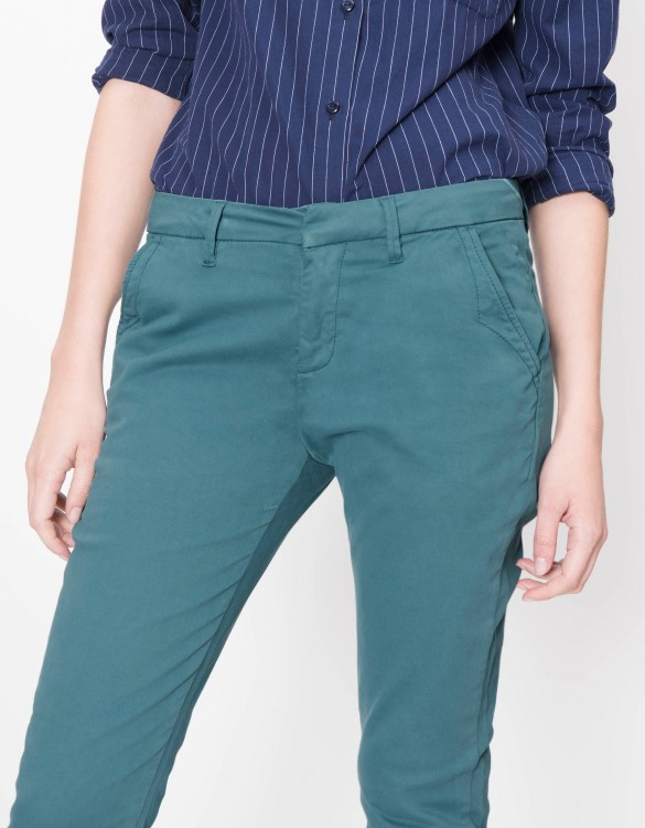 Pantalon chino Sandy Basic - BLUE STORM