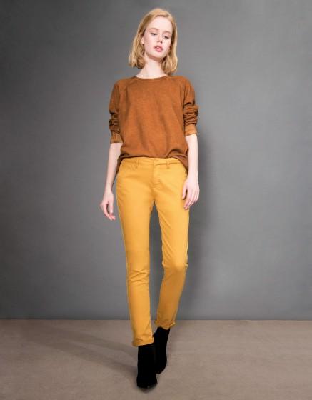 Pantalon chino Sandy Basic - CUMIN