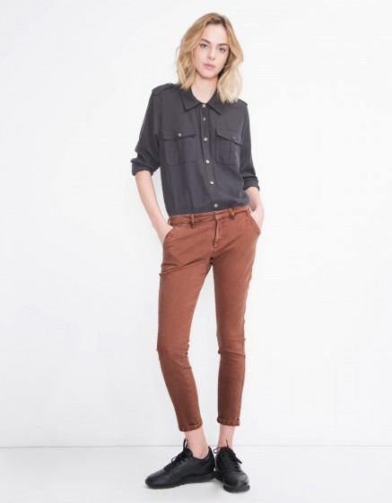 Pantalon chino Sandy Vintage - SEQUOIA