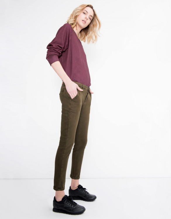 Chino Trousers Sandy Vintage - KAKI
