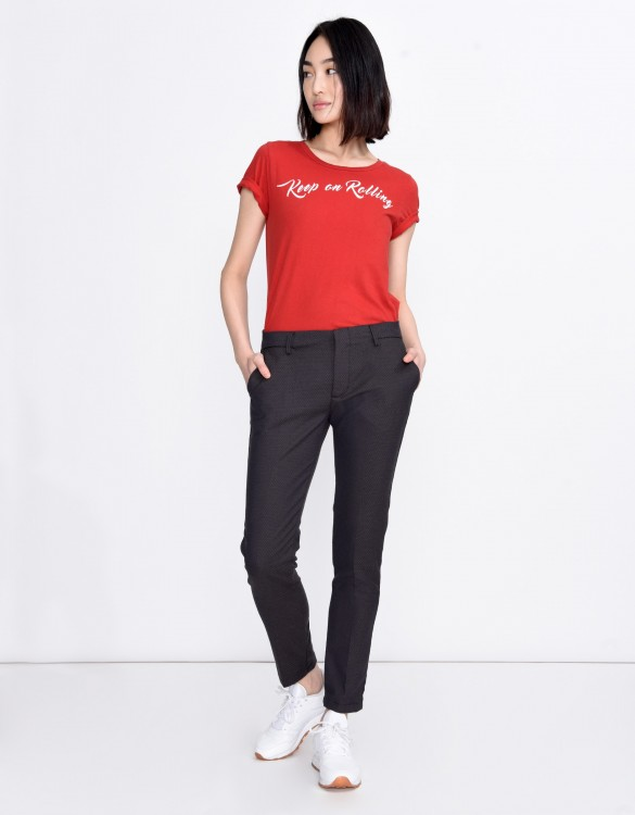 Cigarette Trousers Lizzy Fancy - SWEAT