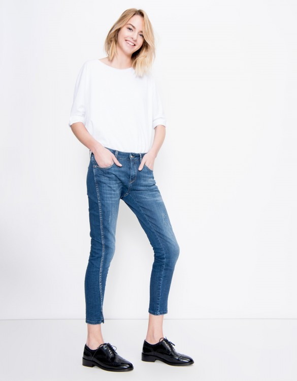 Cropped Skinny jean Daytona - DENIM M-03