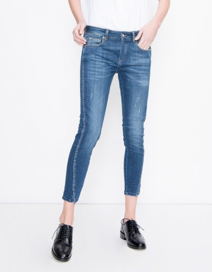 Jean skinny cropped Daytona - DENIM M-03