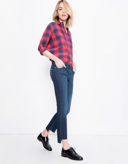 Jean straight cropped Prue - DENIM B-71