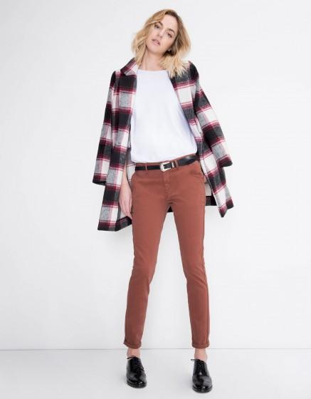Pantalon chino Sandy Basic - SEQUOIA