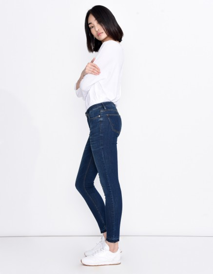 Jean skinny cropped Lily - DENIM M-02