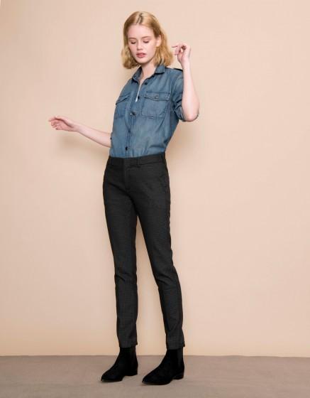 Cigarette Trousers Lizzy Fancy - SHELL