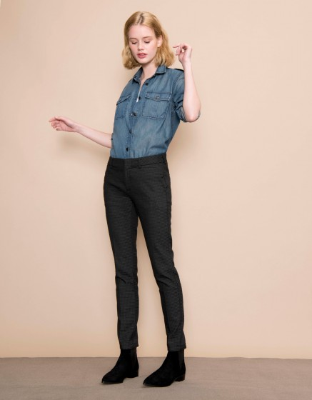 Pantalon cigarette Lizzy Fancy - SHELL