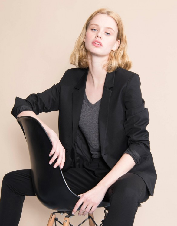 Veste blazer Blair Color - BLACK