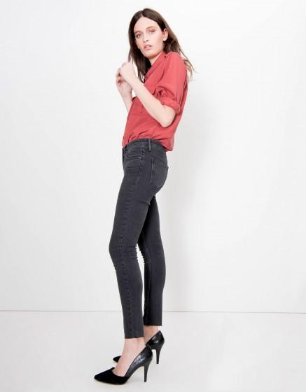 Jean skinny cropped Lily - DENIM BL-10