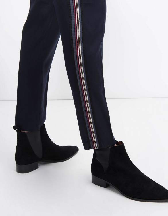 Pantalon cigarette Lizzy Herring - NAVY