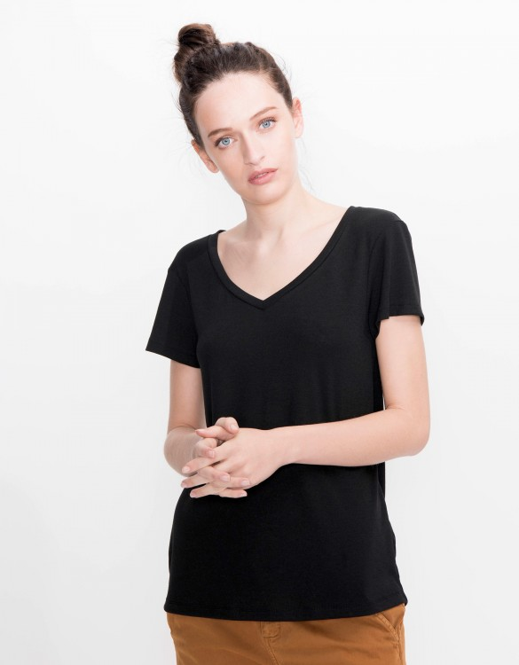 T-shirt Tory - BLACK