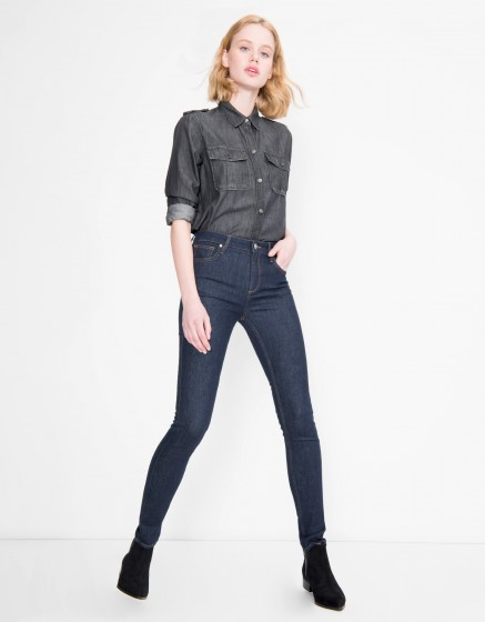 High waist jean Arnel - DENIM B-55