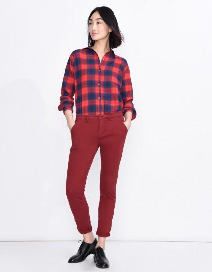 Chino Trousers Sandy Basic - CARMIN