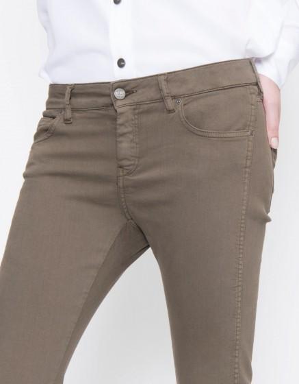 Pantalon skinny cropped Daytona Color - VINTAGE KAKI