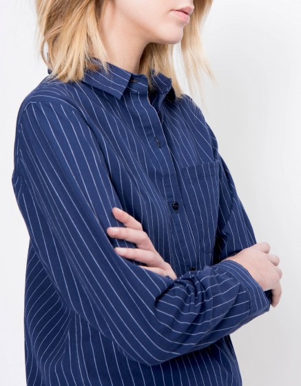 Stripes shirt Carry - NAVY