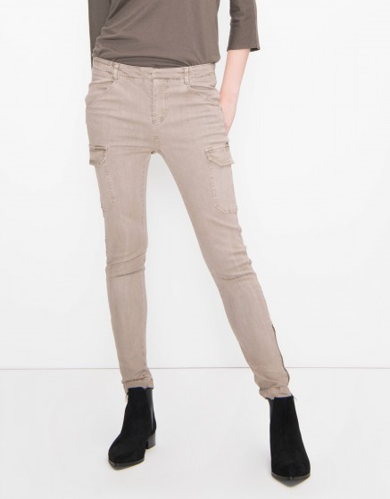 Pantalon skinny Pitt - TAUPE