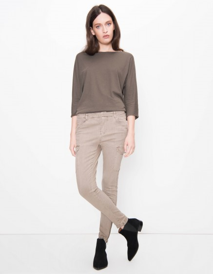 Skinny trousers Pitt - TAUPE