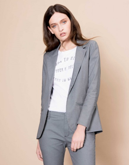 Veste blazer Blair Fancy - STONE