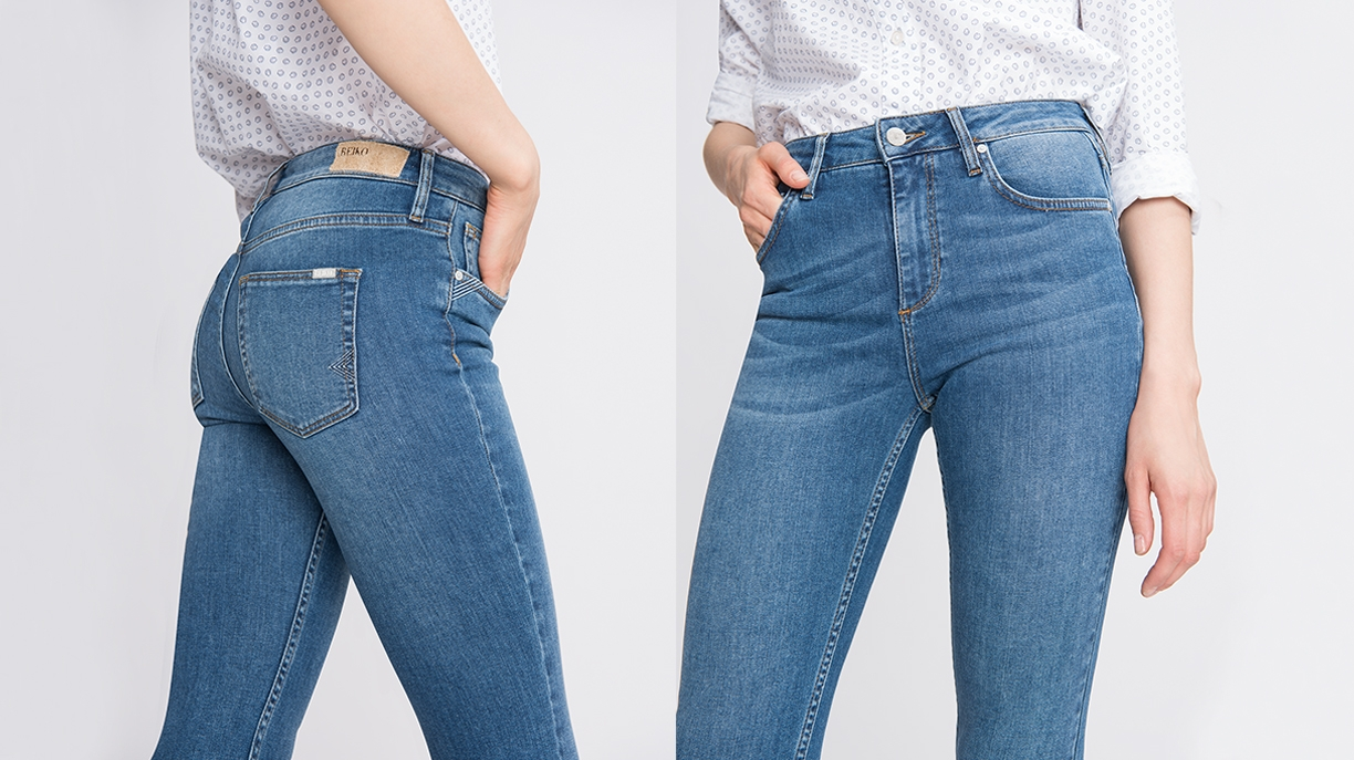 High waist jean Arnel - DENIM B-33